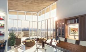 Apartamento de tres recamaras, dos baños, sala, comedor con terraza