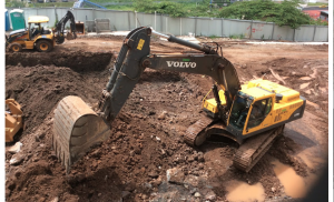 Preparación de Terreno Matt de Fundaciones T300