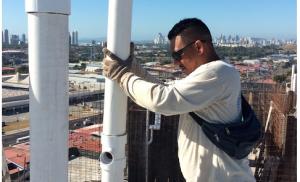 Replanteo tubería agua potable T400
