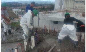 Vaciado de concreto T500